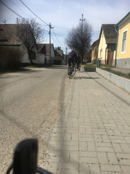 Cycling on Szentendre Island