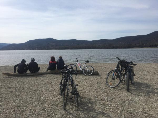 Cycling on Szentendre Island